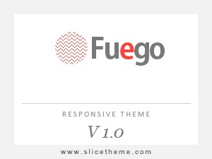 Fuego template WordPress