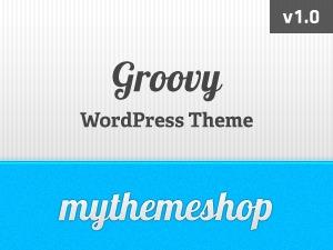 Groovy WordPress shop theme