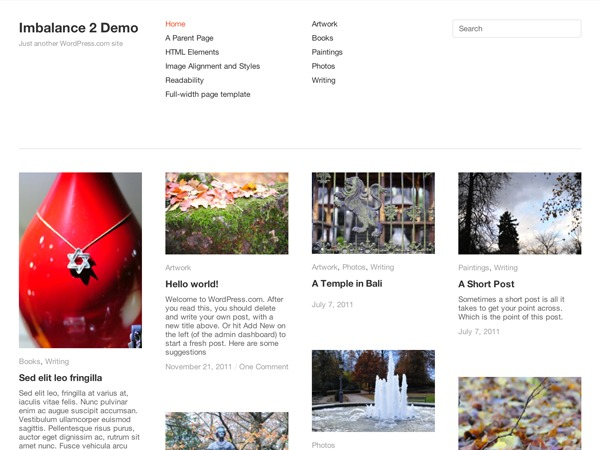 Imbalance 2 – WordPress.com WordPress news theme