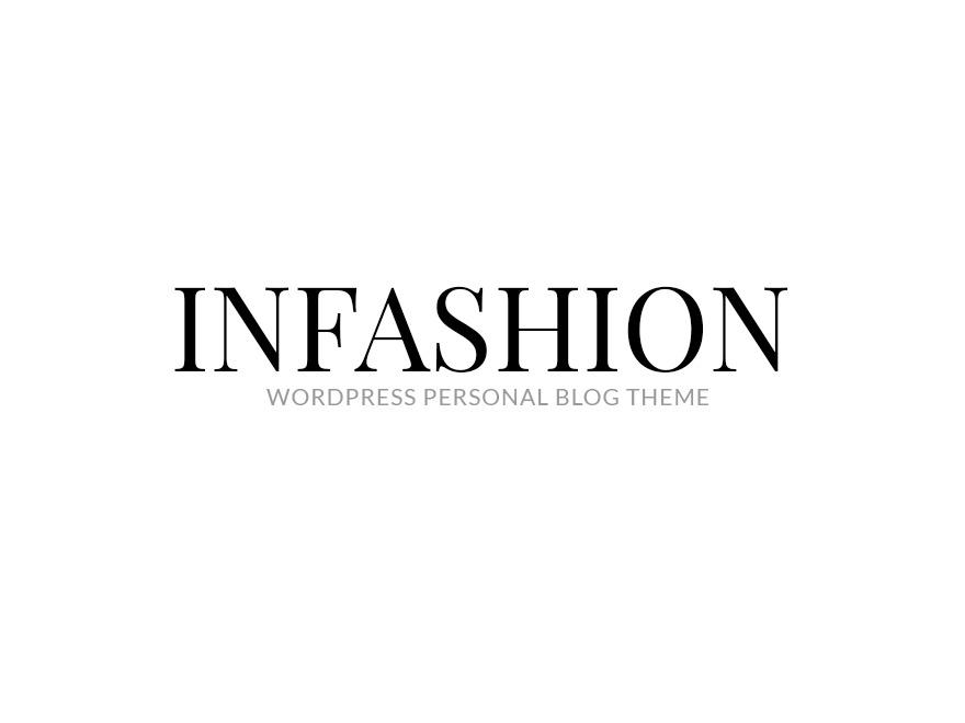 inFashion fashion WordPress theme