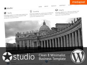 istudio company WordPress theme