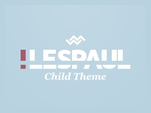 !LesPaul Child Theme premium WordPress theme