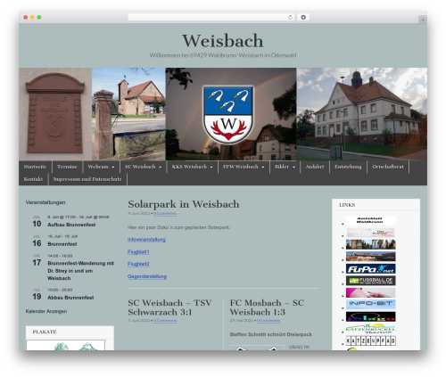 Magazine Basic WordPress template free - weisbach.info