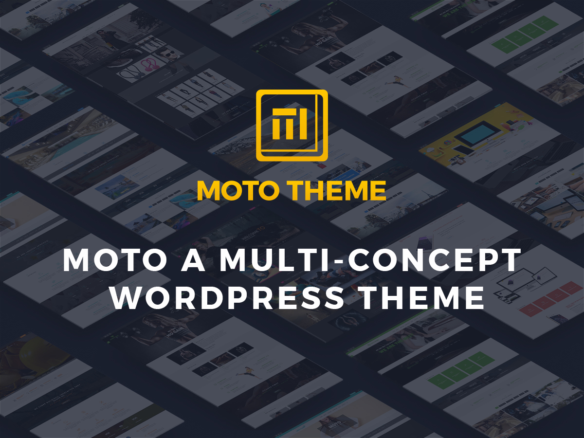 moto WordPress template for business