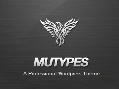 Mu Types business WordPress theme