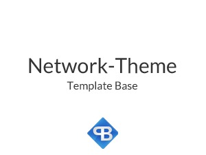 Network-Theme WordPress blog template