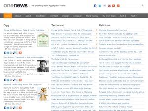 OneNews Premium WordPress magazine theme