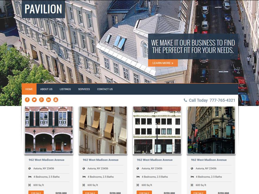Pavilion best WordPress theme