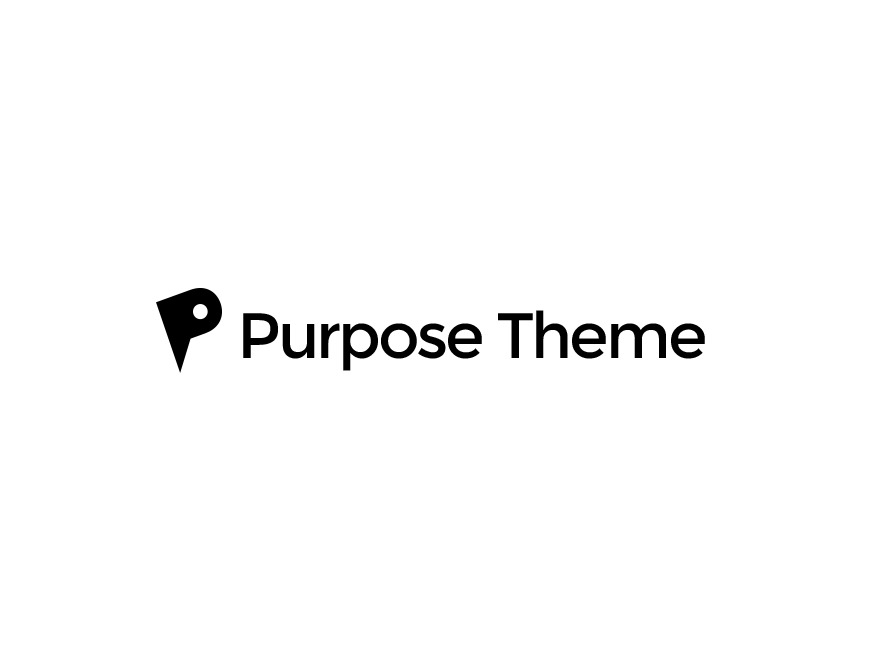 Purpose WordPress template for business