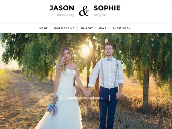 Qaween WordPress wedding theme