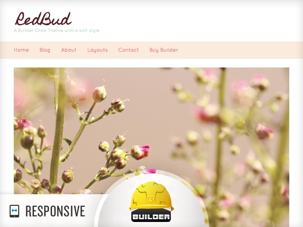 Redbud best WordPress template