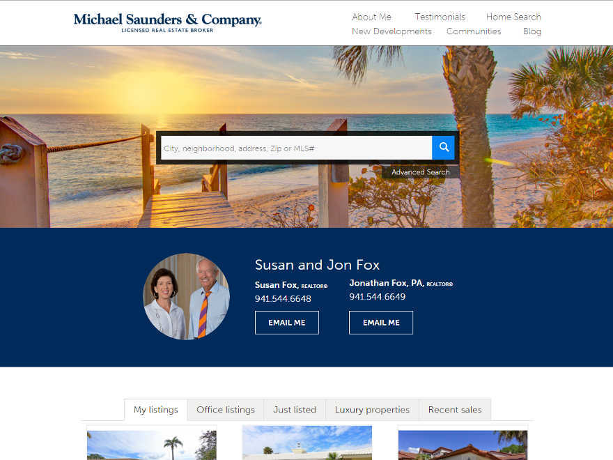 Residential - Theme 1 WordPress template