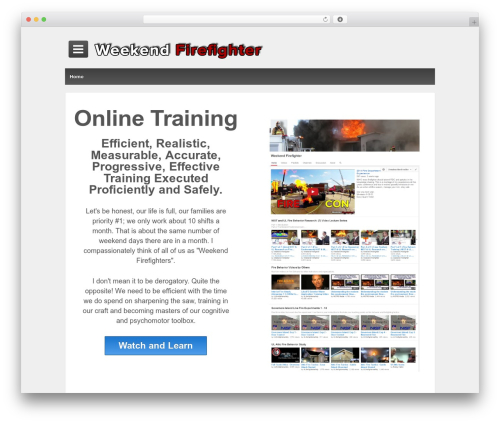 Responsive theme free download - weekendfirefighter.com