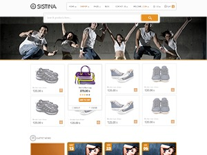 Sistina WordPress store theme