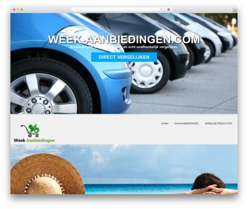 SKT White WordPress theme - week-aanbiedingen.com