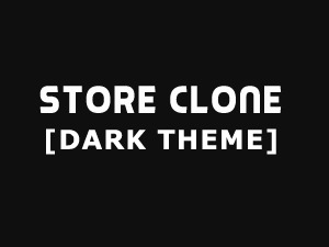StoreClone [Dark Theme] WordPress ecommerce theme