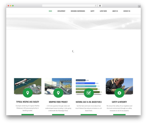 Subway WordPress theme - wespac.com