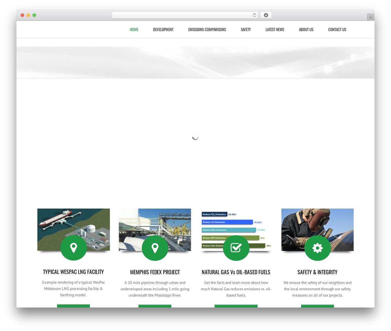 Subway WordPress theme - wespac.com