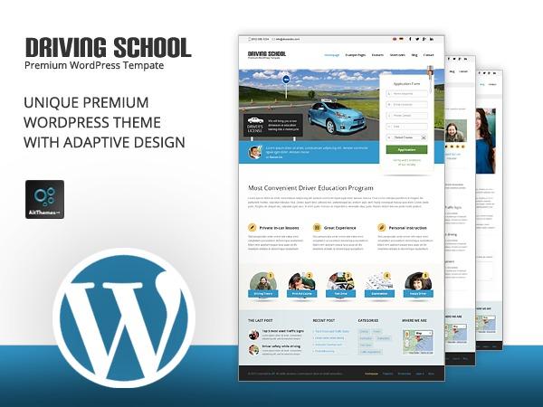 Template WordPress DrivingSchool