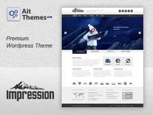 Template WordPress Impression