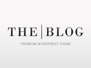 The Blog WordPress blog template