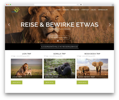 WordPress ut-portfolio plugin - welcometouganda.de
