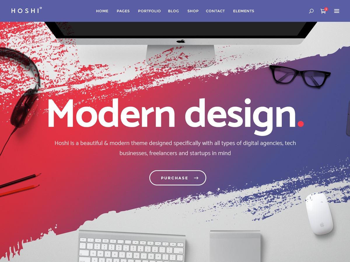 Theme WordPress Hoshi
