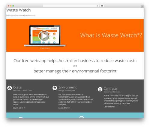 Free WordPress WP Video Lightbox plugin - wastewatch.com.au