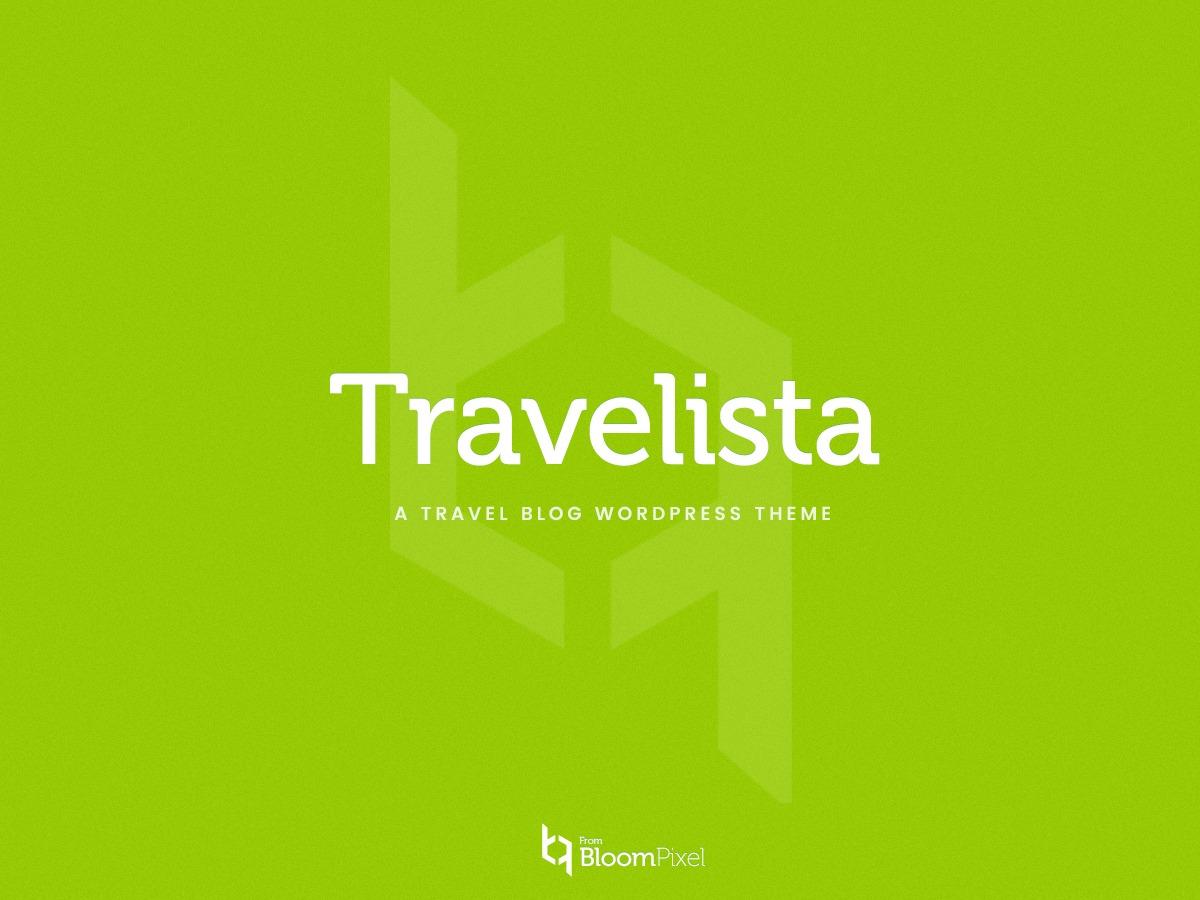 Travelista WordPress blog theme
