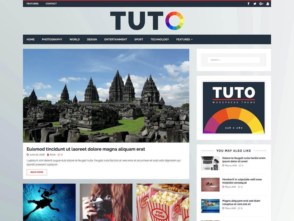 Tuto WordPress news template