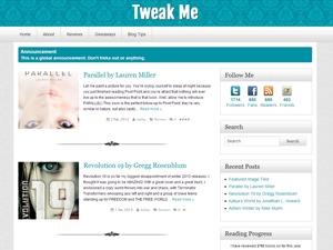 Tweak Me WordPress blog template