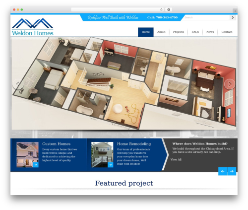 Twenty Fourteen free website theme - weldonhomes.us
