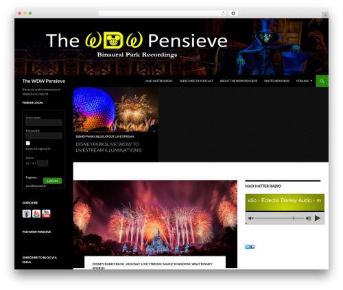 Twenty Fourteen WordPress free download - wdwpensieve.com/wp