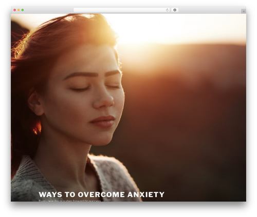 Twenty Seventeen best free WordPress theme - waystoovercomeanxiety.com