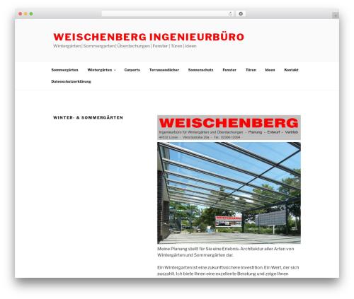 Twenty Seventeen theme WordPress free - weischenberg-wintergaerten.de