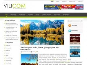 Vilicom premium WordPress theme