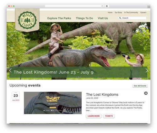 WordPress logos-showcase plugin - wesleycloverparks.com