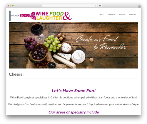 Virtue WordPress theme free download - winefoodlaughter.com