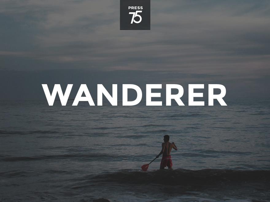 Wanderer WordPress blog template