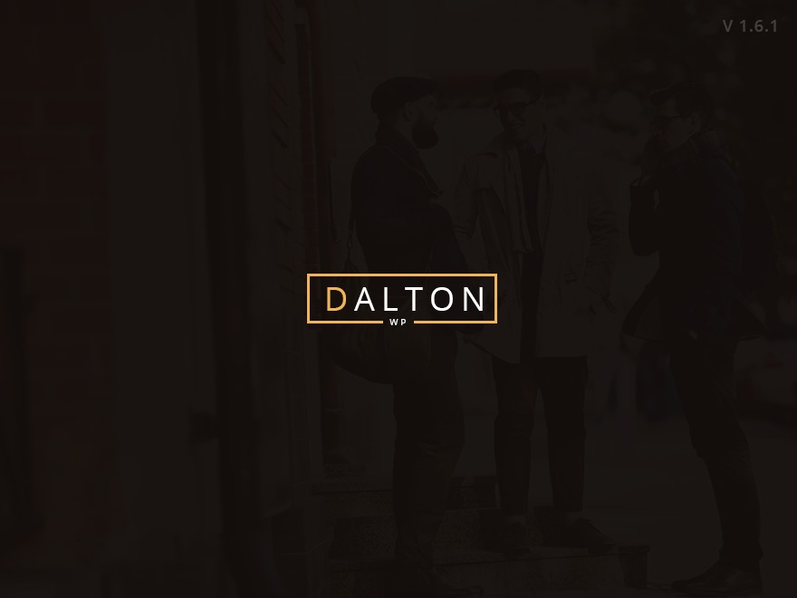 WordPress template Dalton Child