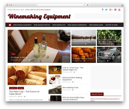 WordPress theme ColorMag - winemaking-equipment.com
