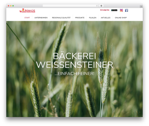 WordPress theme Feather - weissensteiner.at