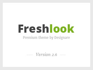 WordPress theme FreshLook