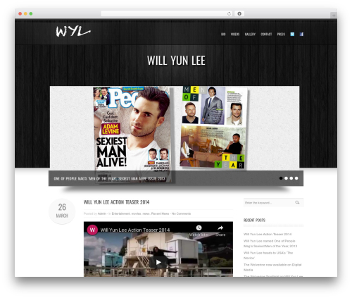 WordPress theme Goodways - willyunlee.com