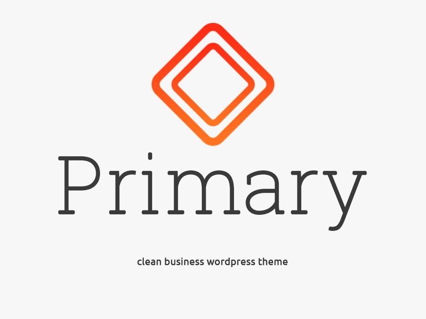 WordPress theme Primary