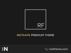 WordPress theme Reframe