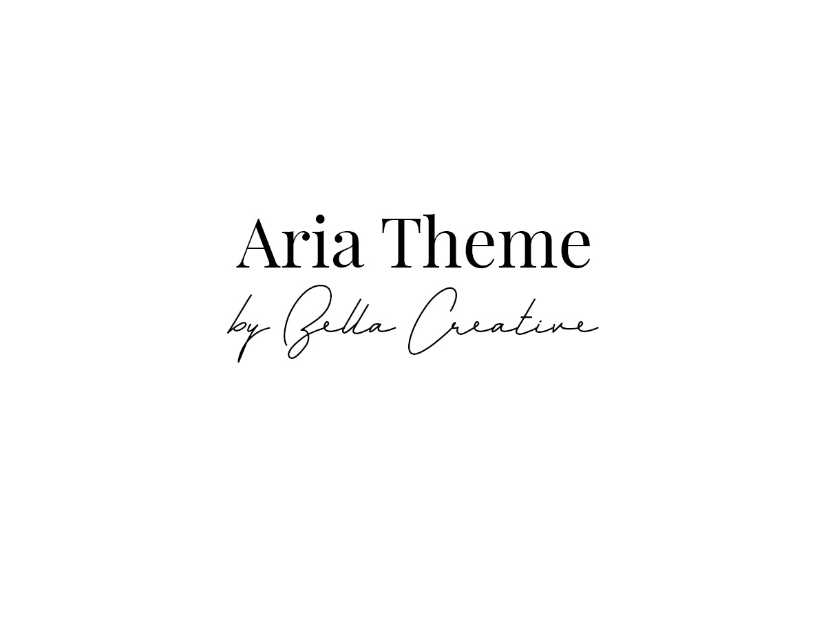 WordPress website template Aria