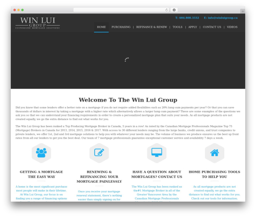 WordPress website template () Bouncy - winluigroup.ca