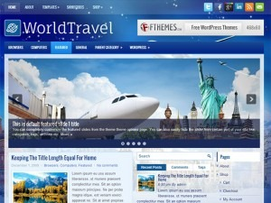 Worldtravel WordPress travel theme