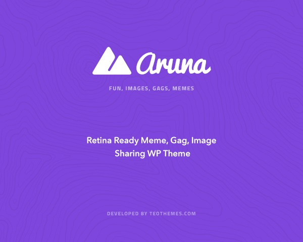 WP template Aruna